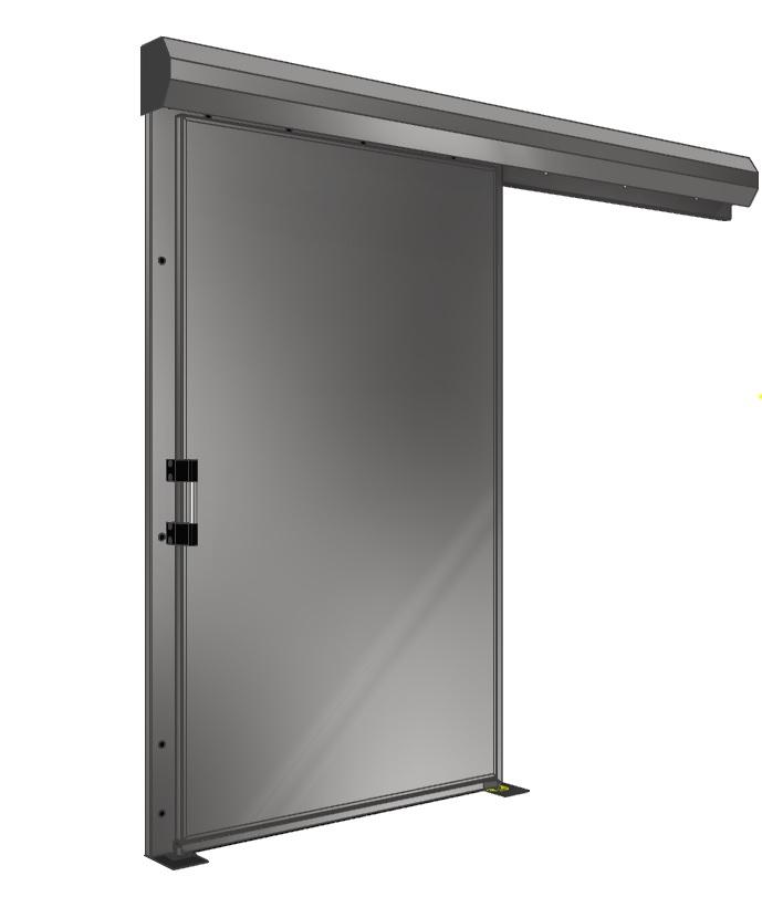 Drzwi wykonane ze stali nierdzewnej
