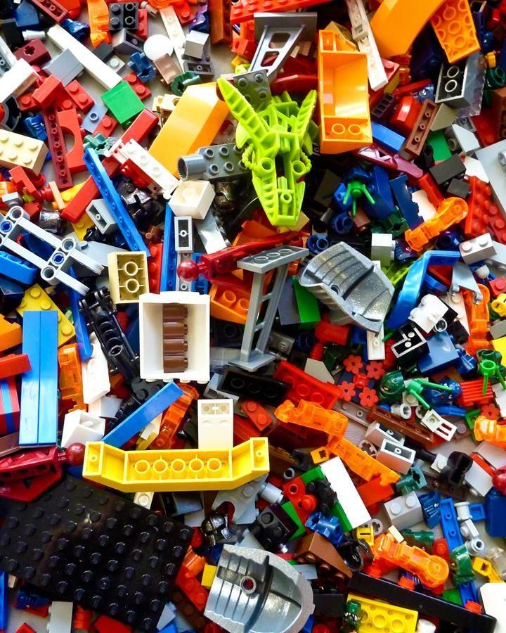 Zastawy Lego uczą kreatywności